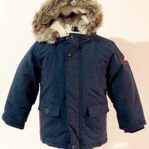 New Matalan UK Kids Navy Shower Resistant Jacket